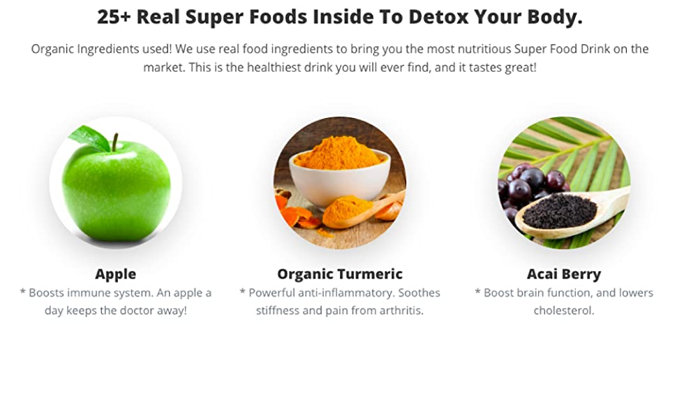 Real super foods to detox your body