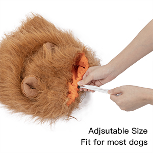 adjustable costume for dogs