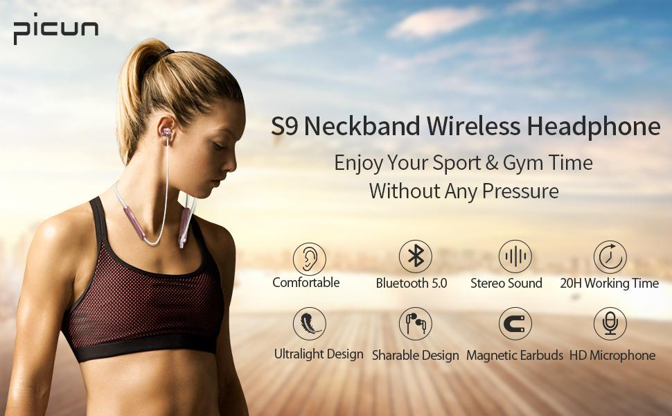 S9 Bluetooth Headphones