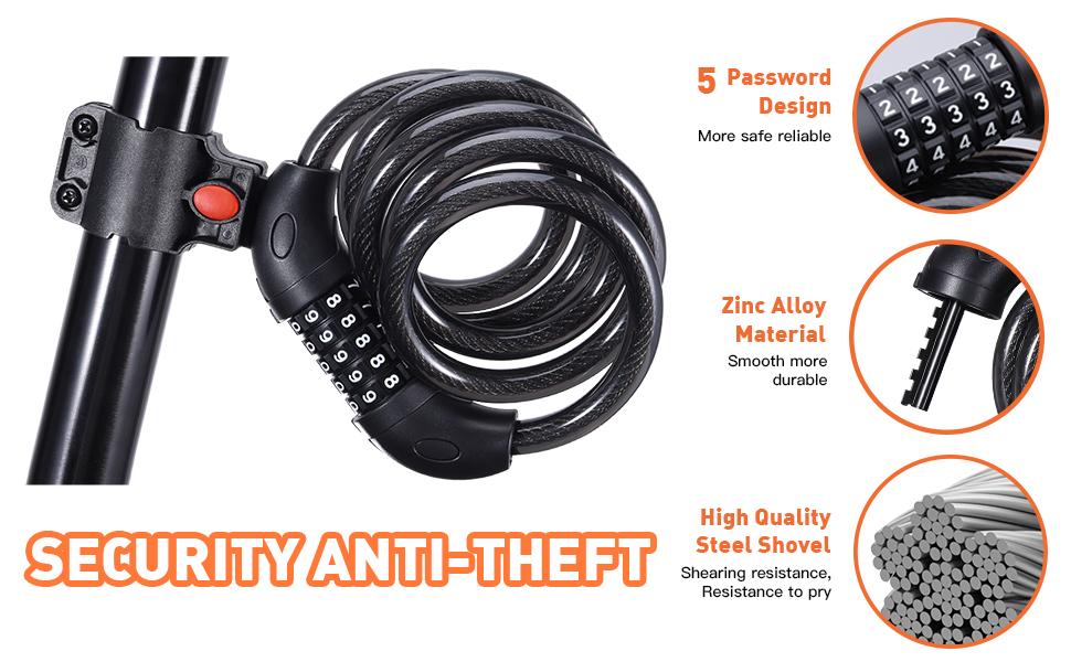 Security anti-theft