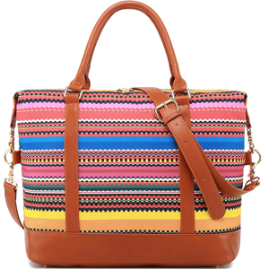 women ladies carry on weekender bag