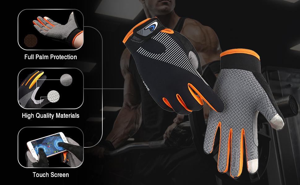 full finger workout gloves women