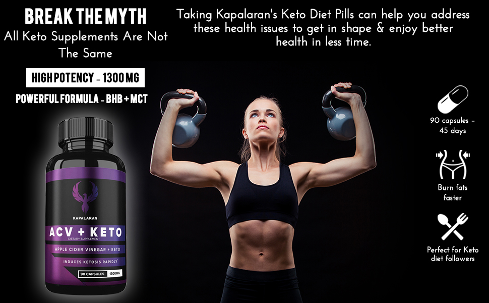 keto supplement is formulated differently