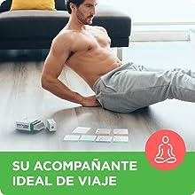WorkoutLabs Tarjetas con ejercicios para entrenar sin implementos-Tarjetas de deporte en casa para ponerse en forma - Mazo de cartas de ...