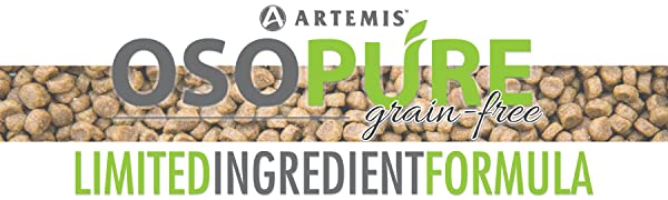 Artemis OSOPURE Limited Ingredient Formula grain free dry food for dog and cat