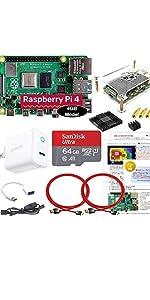 Raspberry Pi 4B (4GB) BASIC スターターセット