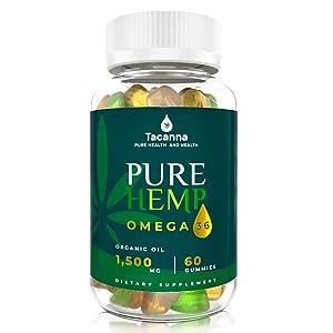 tacanna hemp oil gummies for adult hemp oil chews anti anxiety stress relief hemp supplement