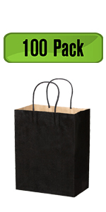 kraft paper bags with handles