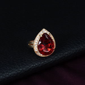 red band rings for women