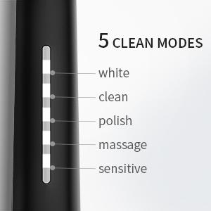 5 clean modes