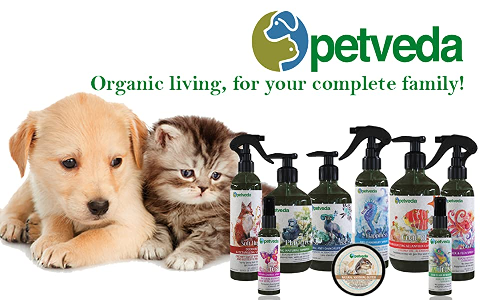 petveda pet grooming shampoo dog cat spray tick flea pet balm cream paw butter perfume natural