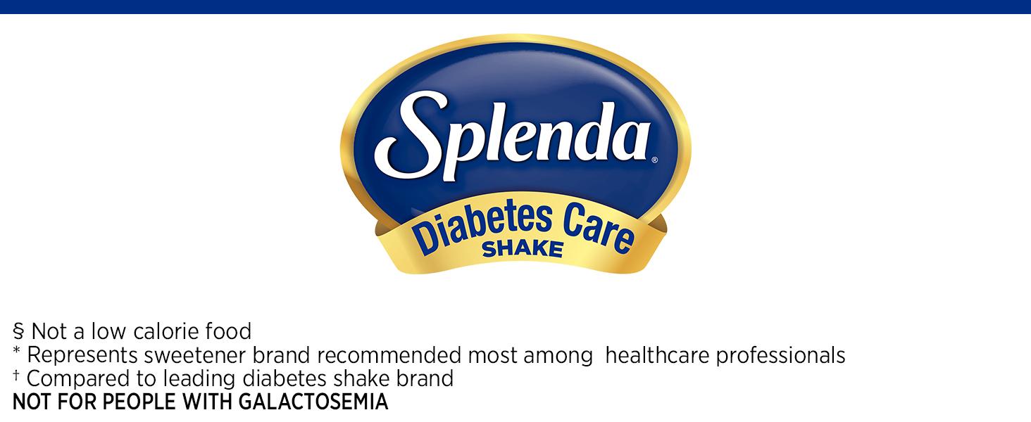 Splenda Diabetes care Shakes