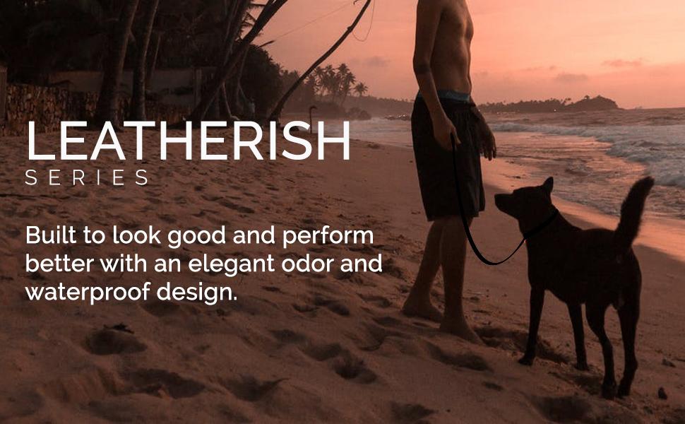 Tiger Tail Leatherish Leashes