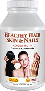 Healthy Hair, Skin amp; Nails