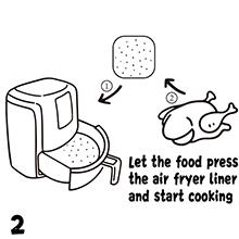 Air Fryer Liners