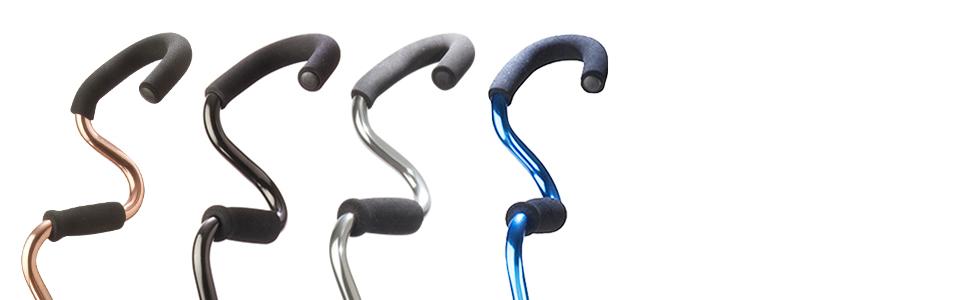 StrongArm Comfort Cane Metal Series