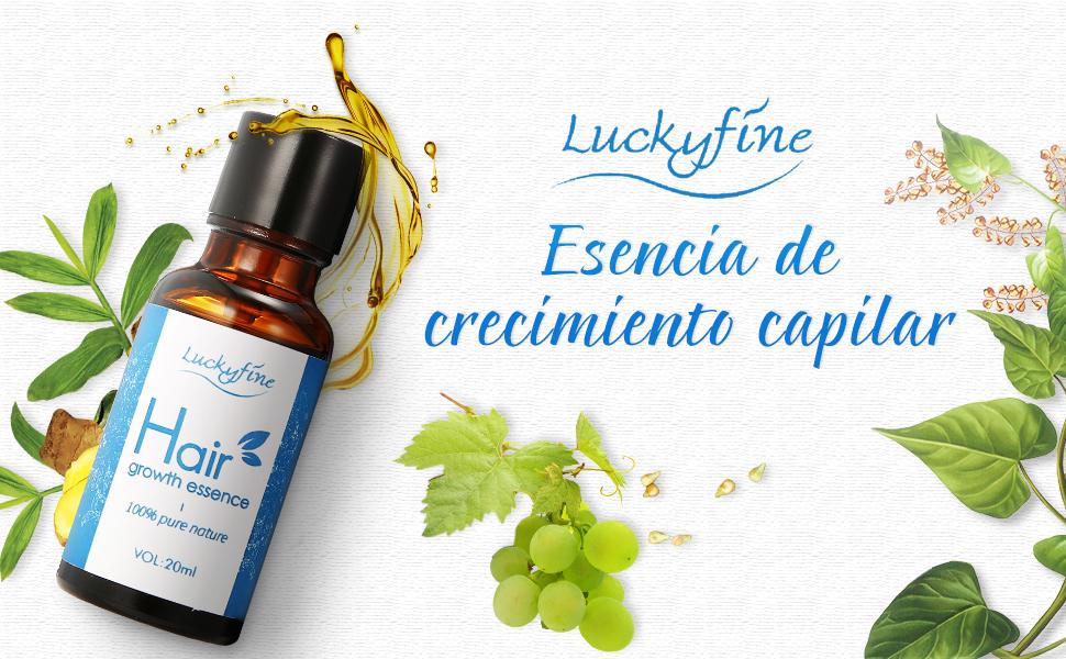 Aceite para Crecimiento del Cabello, Pelo Crecimiento Esencia, Hair Growth Essence 100% Pure Nature, Estimula Cabello, Pérdida de Pelo Tratamiento ...