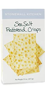 Stonewall Kitchen Sea Salt Flatbread Crisps Snacks Crackers