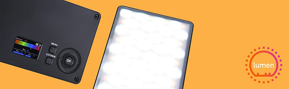 Rollei Lumen Pocket Rgb Led Fotolicht I 12w Led Kamera