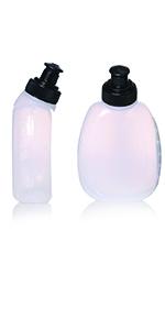 10 oz. bpa free water bottles lid cap set picnic hiking fanny pack belt