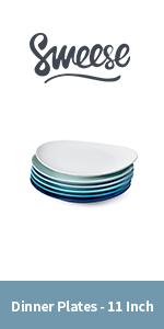 Dinner Plates - 11 Inch