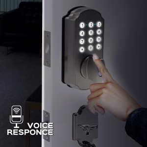 Bright Keypad + Voice Prompts