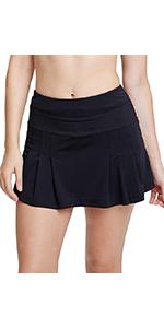 Women's Active Athletic Skort Lightweight Quick Dry Shorts Running Tennis Golf Workout Skirt