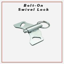 Service Caster, Bolt On Swivel Lock