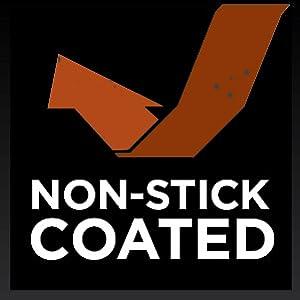 non-stick, corroision-resistant
