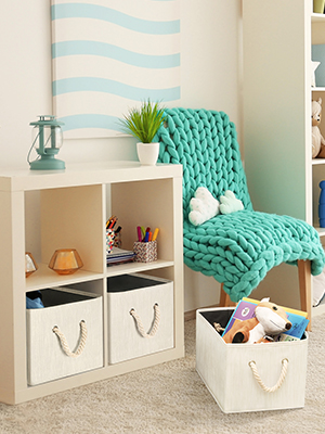 cloth storage container