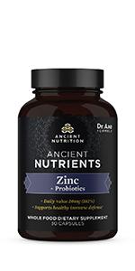 Ancient Nutrients Zinc + Probiotics