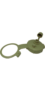 Green Military Water Can Cap