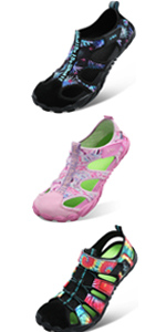Summer Sports Pool Beach Aqua Water Shoes Athletic Hiking Sandals for Women Men