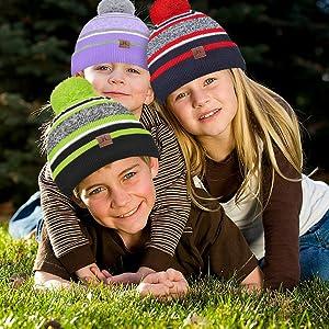 Gorro y bufanda para niños