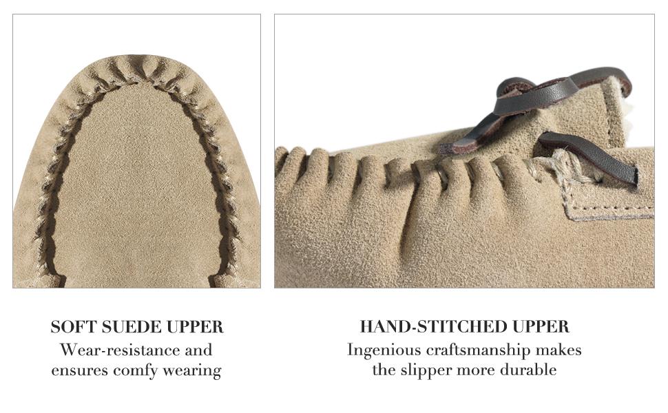 soft suede upper