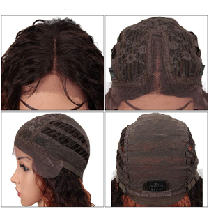 lace wig detail