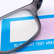 Clear and effective blue light filter lens