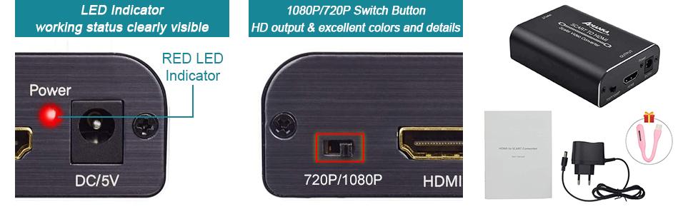 Convertisseur Péritel vers HDMI