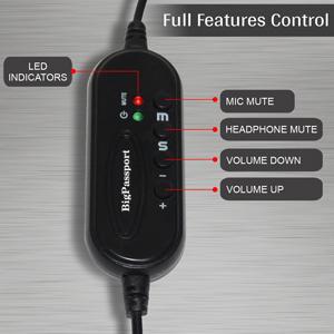 Convenient in-line Controls