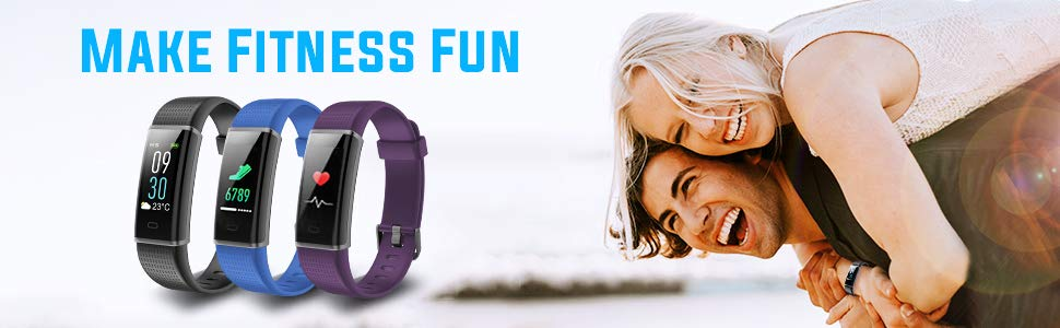 HolyHigh 130C fitness Band