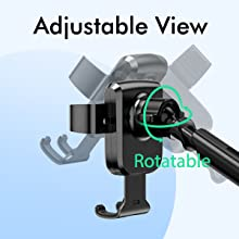 Car Mount Cell Phone Holder Dashboard Windshield Smartphone Cradle