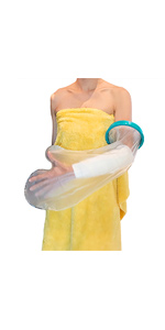 short arm cast shower