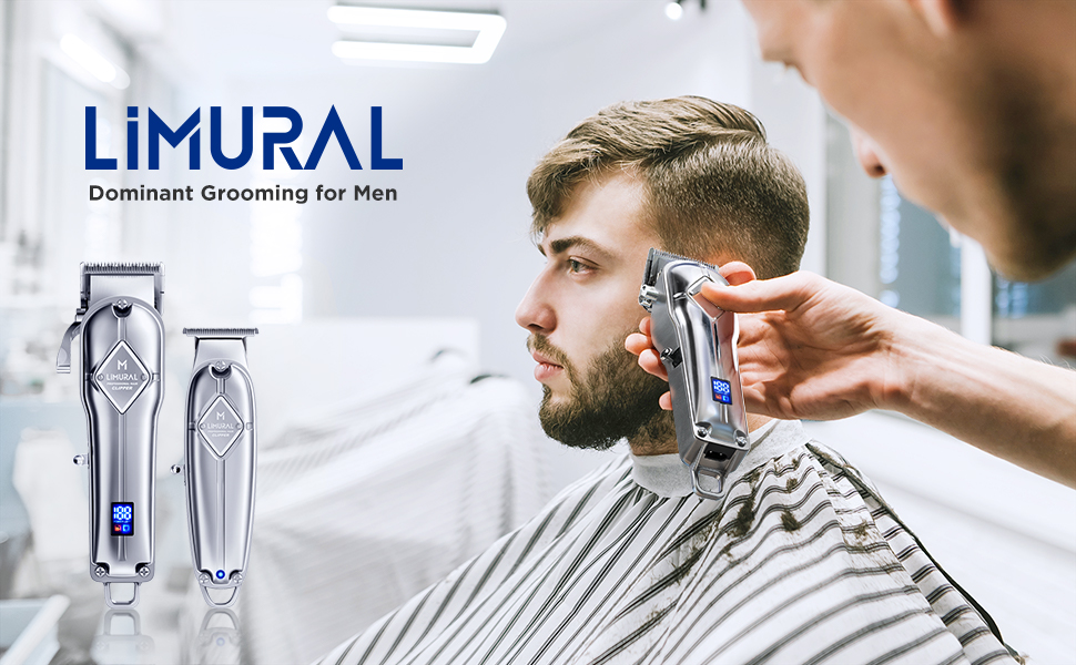 Hair Clippers for Men + Cordless Close Cutting