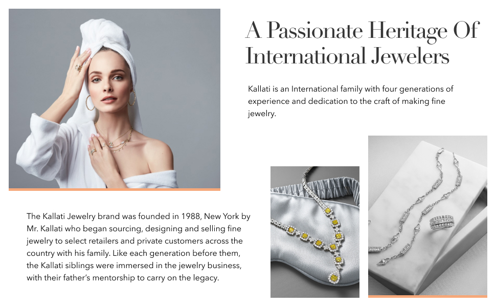 A passionate heritage of International jewelers