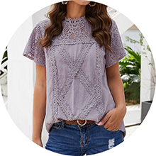 purple lace tshirts