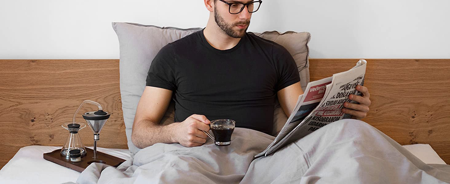 Barisieur in Bed