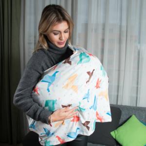 milksnob multifunctional car seat stretchy infant car seat seat breastfeeding nursing cover scarf