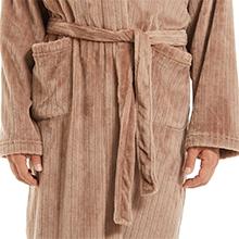 plus size robe for men