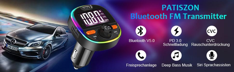 Fm Transmitter Auto Bluetooth Kfz Radio Adapter Elektronik