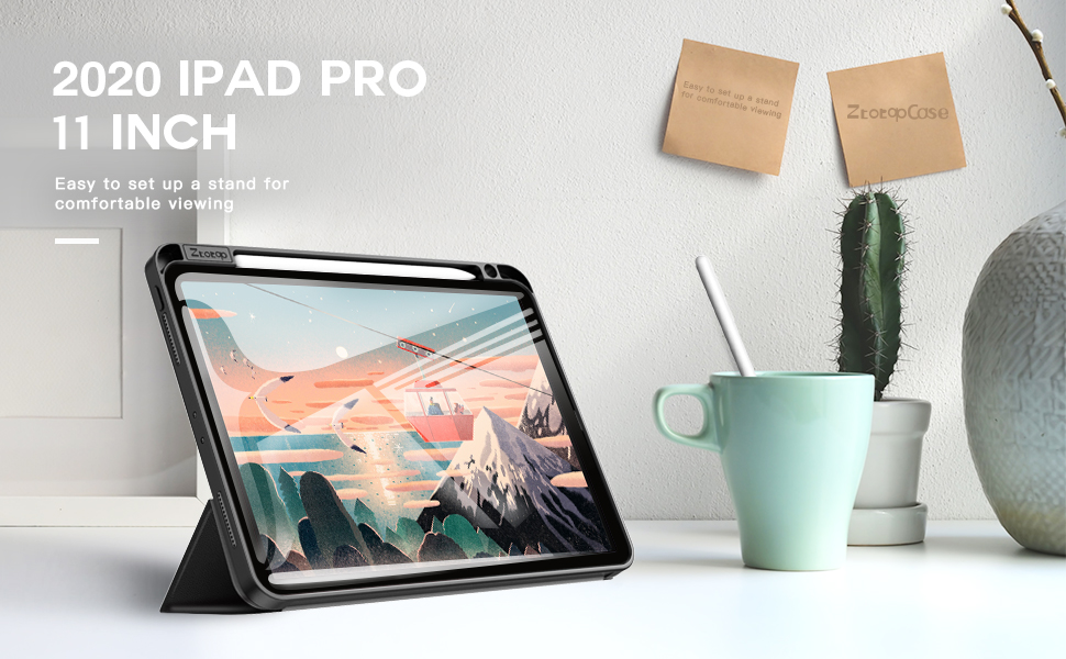 iPad pro 11 case 2020 with pencil holder